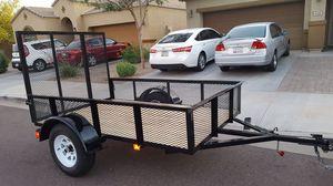5x8 utility trailer for Sale in Phoenix, AZ