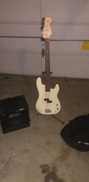 Squier P-Bass Guitar for Sale in Kennesaw, GA