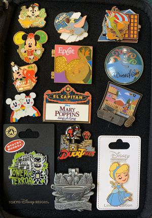 Disney pins for sale or trade for Sale in Las Vegas, NV