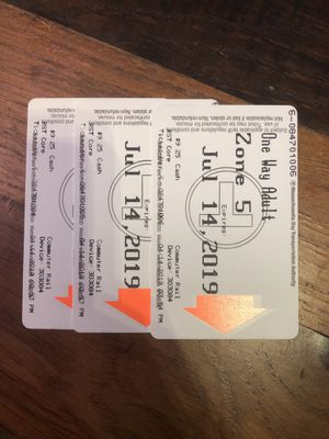 Purple line 3 One way tickets for Sale in Framingham, MA