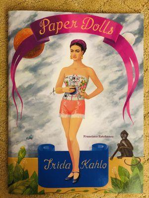 Frida Kahlo Paper Dolls for Sale in Fairfax, VA