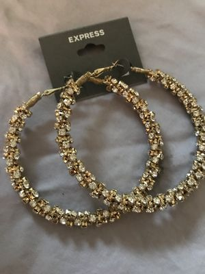 Gold hoops for Sale in Lakewood, CO