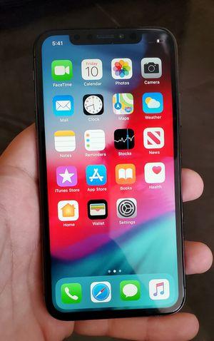 New iPhone X 256GB Unlocked DESBLOQUEADO Liverado T-mobile Metro Att Sprint Boost Cricket Verizon Spectrum Simple Mint Mobile Others for Sale in Los Angeles, CA