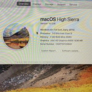"2015 MacBook Air 13"" for Sale in Fort Lauderdale, FL"