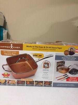 Copper Pot Set NEW in box for Sale in Buford, GA