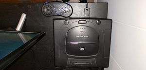 Sega saturn with 2 controllers, 2 games for Sale in Carson, CA