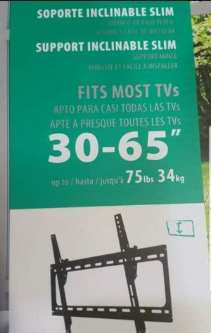 Tilt tv wall mount... new in box sealed for Sale in Plano, TX