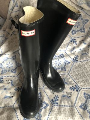 Hunter rain boots 8 for Sale in Annandale, VA