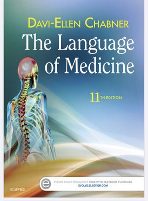 Language of medicine 11th edition for Sale in Lakewood, CA