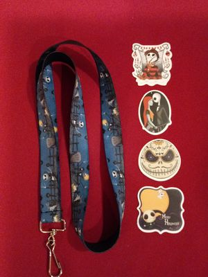Nightmare Before Christmas Lanyard for Sale in Pico Rivera, CA