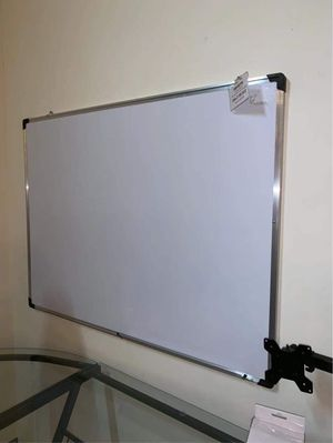 New 47x35 inches dry erase marker writing tutor board with eraser included magnetic for Sale in Los Angeles, CA