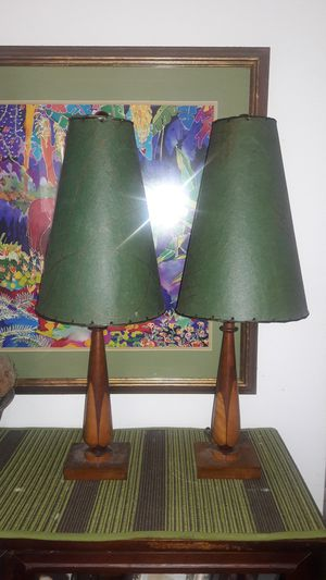 2 Antique Table Lamps for Sale in Atlanta, GA