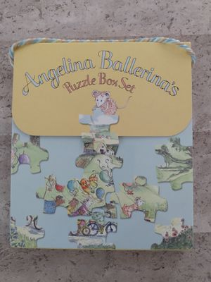 Angelina Ballerina's Puzzle Box Set for Sale in Rockville, MD