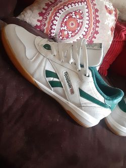 Original REEBOK Men's 13....New( Green and Cream) for Sale in Raleigh,  NC