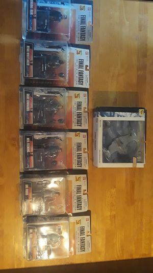 Final Fantasy The Spirits Within collection figures for Sale in Brentwood, CA