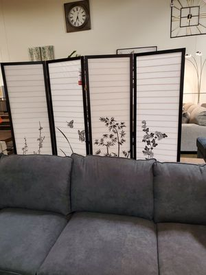 Room Divider, Black for Sale in Fountain Valley, CA