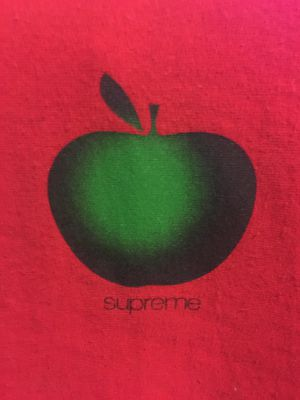 Supreme apple hoodie red size LARGE for Sale in Chandler, AZ
