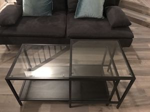 2 coffee tables ikea for Sale in Denver, CO