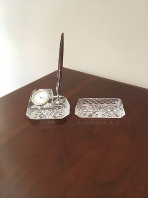 Waterford Crystal desk Set for Sale in Foothill Ranch, CA