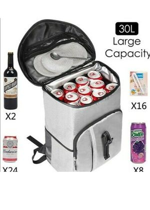 SEEHONOR Insulated 30 Can Cooler Backpack Leakproof Soft Lightweight for Sale in El Monte, CA
