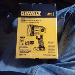DeWalt 20v Jobsite LED Spotlight for Sale in Vancouver, WA