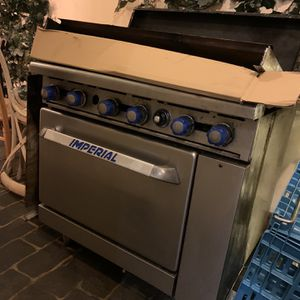 Imperial Industrial Kitchen Stove And Oven for Sale in Hollywood, FL