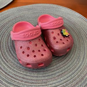 Toddler Glitter Crocs for Sale in Loganville, GA