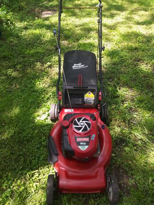 CLEAN Craftsman 6.75 HP rear wheel drive mower with like new bag for Sale in Lorain, OH