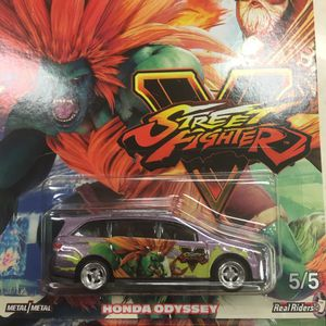 Hot wheels dead pool hot wheels Porhot wheels street fighter Honda Odyssey collectible die cast toy car $10 trade Hotwheels Nissan Datsun Toyota Sub for Sale in Colton, CA