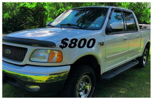 $8OO 🔥Non smoker owner🔥 2002 Ford F-150 Run and drive very smooth!!! for Sale in Little Rock, AR