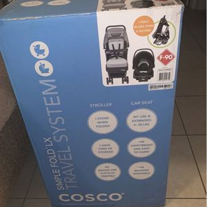 Cosco Simple Fold LX Travel System,Bowie for Sale in Hollywood, FL