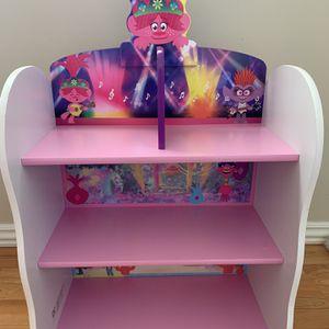 Trolls Book Shelf / Toy Box for Sale in Corona, CA