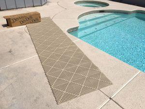 Dri-Dek Slip Proof 3'x12' Roll Floor Anti Slip Gym Bar Wet Pool Spa Almond for Sale in Las Vegas, NV