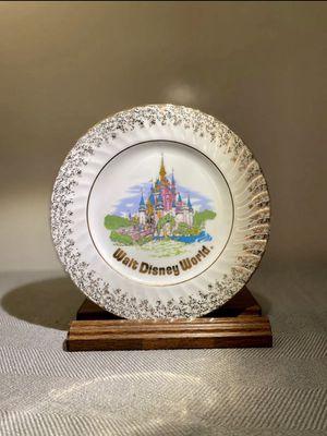 Vintage WDW Souvenir Plate; Disney's Cinderella's Castle for Sale in Levittown, PA