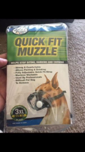 Quick fit muzzle for Sale in San Diego, CA