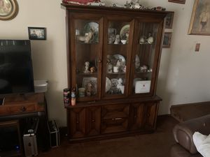Antique clock and china cabinet for Sale in Auburn Hills, MI