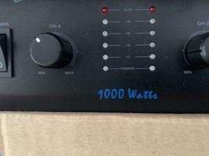 Power amplifier 1000 watt for Sale in Naples, FL