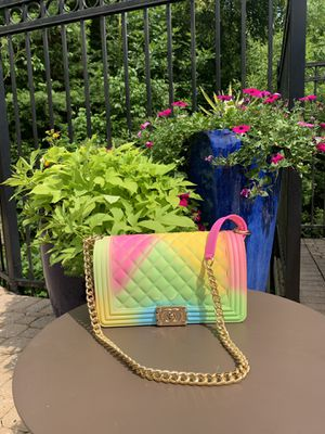 Candy Colored PVC Silicone Jelly Shoulder Messenger Bags for Sale in Atlanta, GA