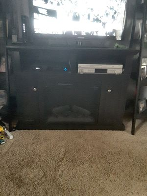 Fireplace / tv stand for Sale in Fairmount, IL