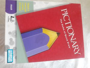 Pictionary board game for adults ( great condition) good deal! for Sale in Irvine, CA