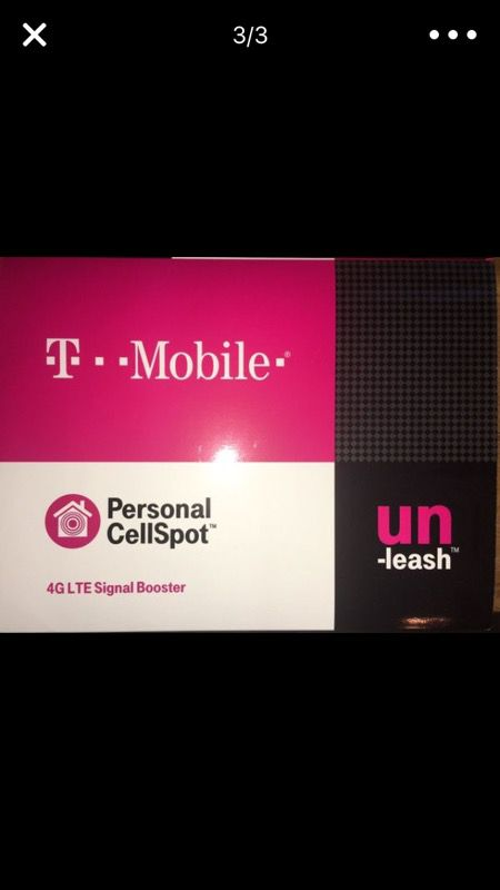 T-mobile Personal CellSpot 4G LTE Signal Booster for Sale in Belleville, IL  - OfferUp