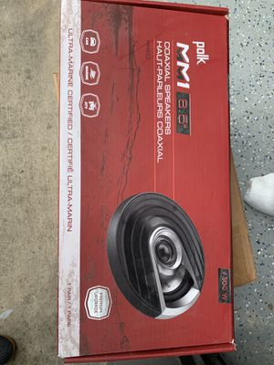 "Polk Audio 6.5"" Speakers Brand new in box for Sale in Clermont, FL"