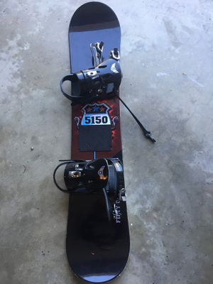 5150 snowboard 6140030 128 with bindings for Sale in Rockville, MD
