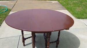 /*/*/*/* ANTIQUE FOLDING TABLE *\*\*\*\ for Sale in Roseville, MI