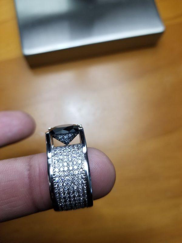 Lab Made Diamond white gold ring