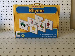 Match it rhyme kids game for Sale in Los Angeles, CA
