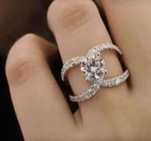 $10 new size 7 8 or 9 silver plated CZ ring for Sale in Eureka, MO