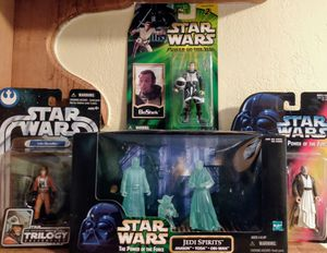 6-Piece Star Wars Figure Collection for Sale in Hoquiam, WA