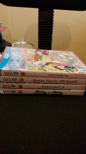 Mario games wii u brand new for Sale in Tampa, FL