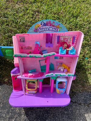 Shopkins Mall $15 ~~Frozen $10 works great OBO ~~Tree House $8 for Sale in Pembroke Park, FL